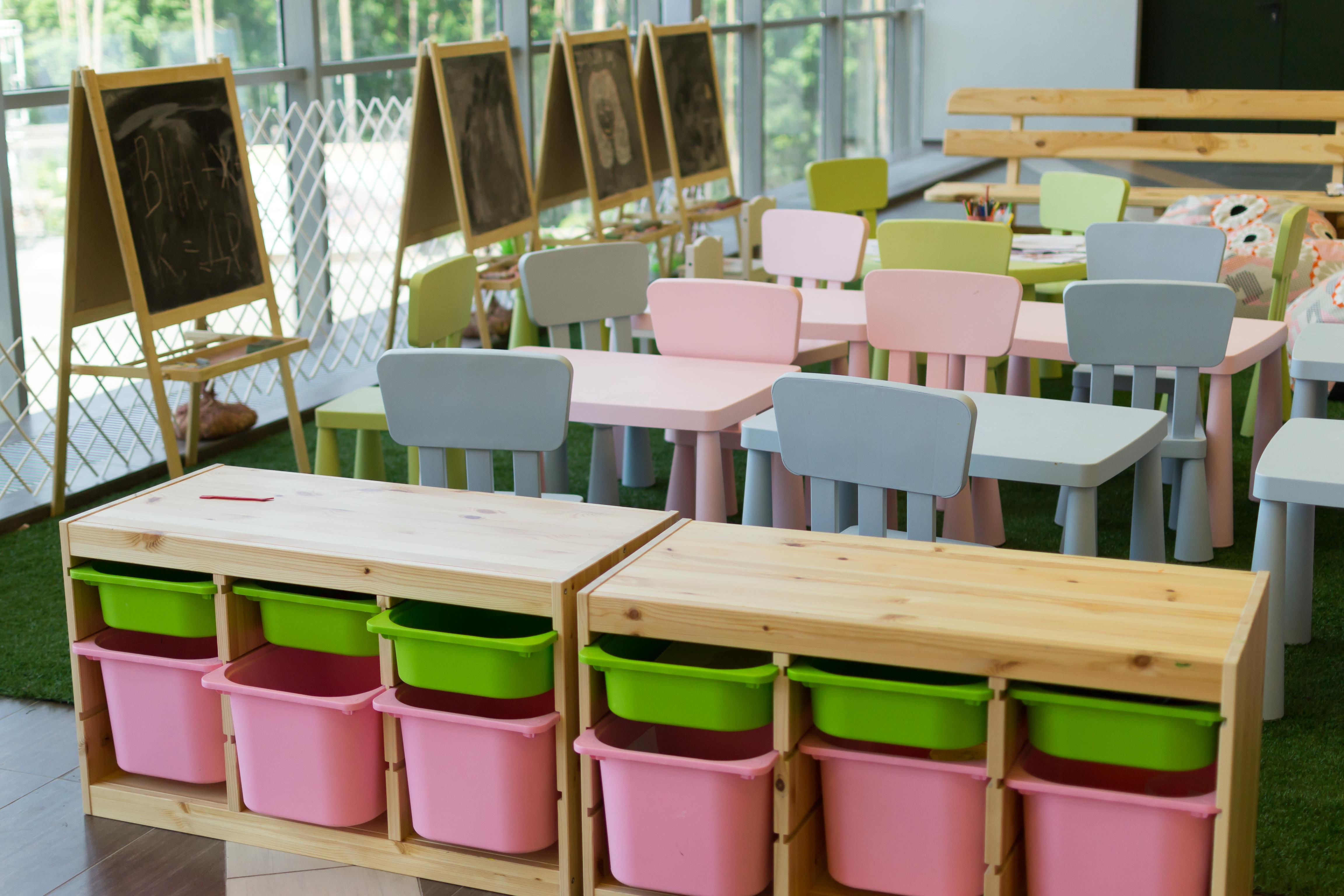 Montessori classroom materials